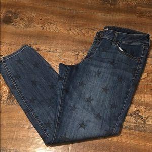 Old Navy Rock Star Jeans w/ 🇺🇸Stars!🔥🔥